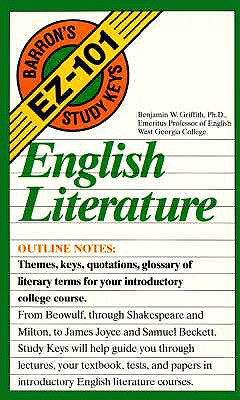 English Literature By Griffith, Benjamin W.